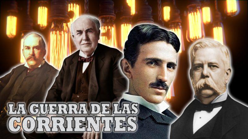 La Guerra de las Corrientes: Tesla Vs. Edison por el Dominio Eléctrico