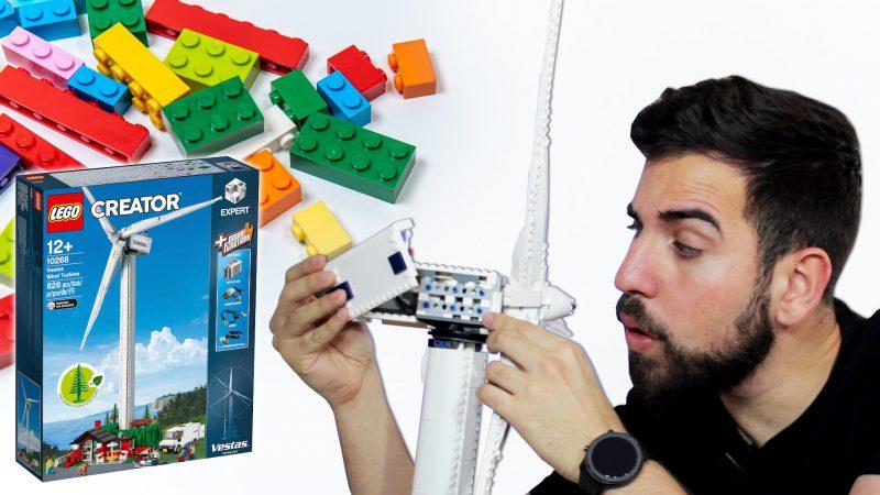 ¿Cómo es un aerogenerador por dentro? Te lo explico montando un LEGO